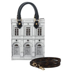 New Louis Vuitton Limited Edition Fornasetti Sac Plat Bag