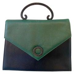 Pablo Picasso Vintage Bi Color Kelly Flap Bag