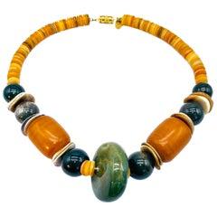 LES BERNARD Vintage 1980s Necklace