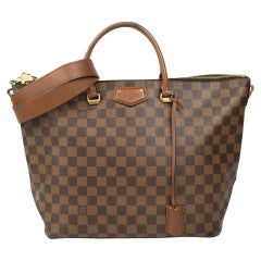 Bag in brown canvas