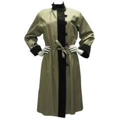 Yves Saint Laurent Cotton & Corduroy Trench Coat