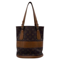 Louis Vuitton Vintage French Co. Made in USA Monogram Small Bucket Bag