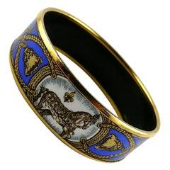 Hermes Vintage Grand Apparat Enamel Bracelet