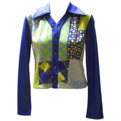 Matsuda Multi-Colored Shirt Jacket