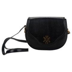 Vintage Hermes Black Lizard Lift Bag 4 Ways