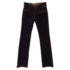 Jean Paul Gaultier Dark Denim Jeans