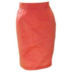 Vivienne Westwood Pink Satin Skirt