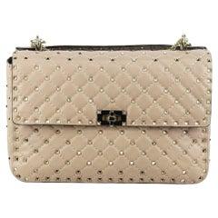 Valentino Garavani The Rockstud Spike Large Quilted Leather Shoulder Bag