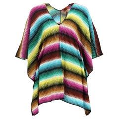 Missoni Mare Crochet Knit Kaftan