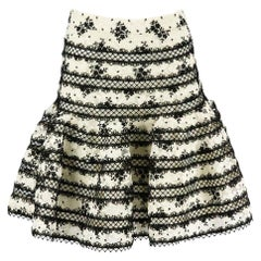 Zimmermann Master Embroidered Lace Mini Skirt