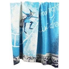 Gigi Brooks Cashmere Intarsia Blanket