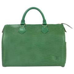 Speedy in Green Leather