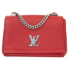Lockme in Red Leather