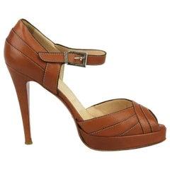 Christian Louboutin City Leather Platform Sandals