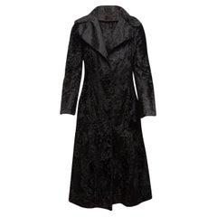 Georges Kaplan Black Persian Lamb Coat