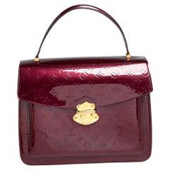 Louis Vuitton Rouge Fauviste Monogram Vernis Romaine Bag