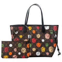 New Louis Vuitton Limited Edition  Fornasetti Neverfull Tote Bag in Box