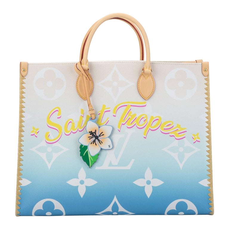 New Louis Vuitton 2021 On The Go Saint Tropez Bag For Sale