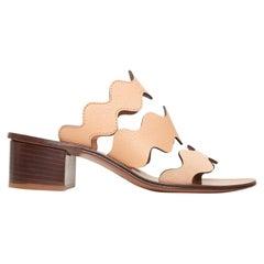 Chloe Tan Lauren Heeled Sandals