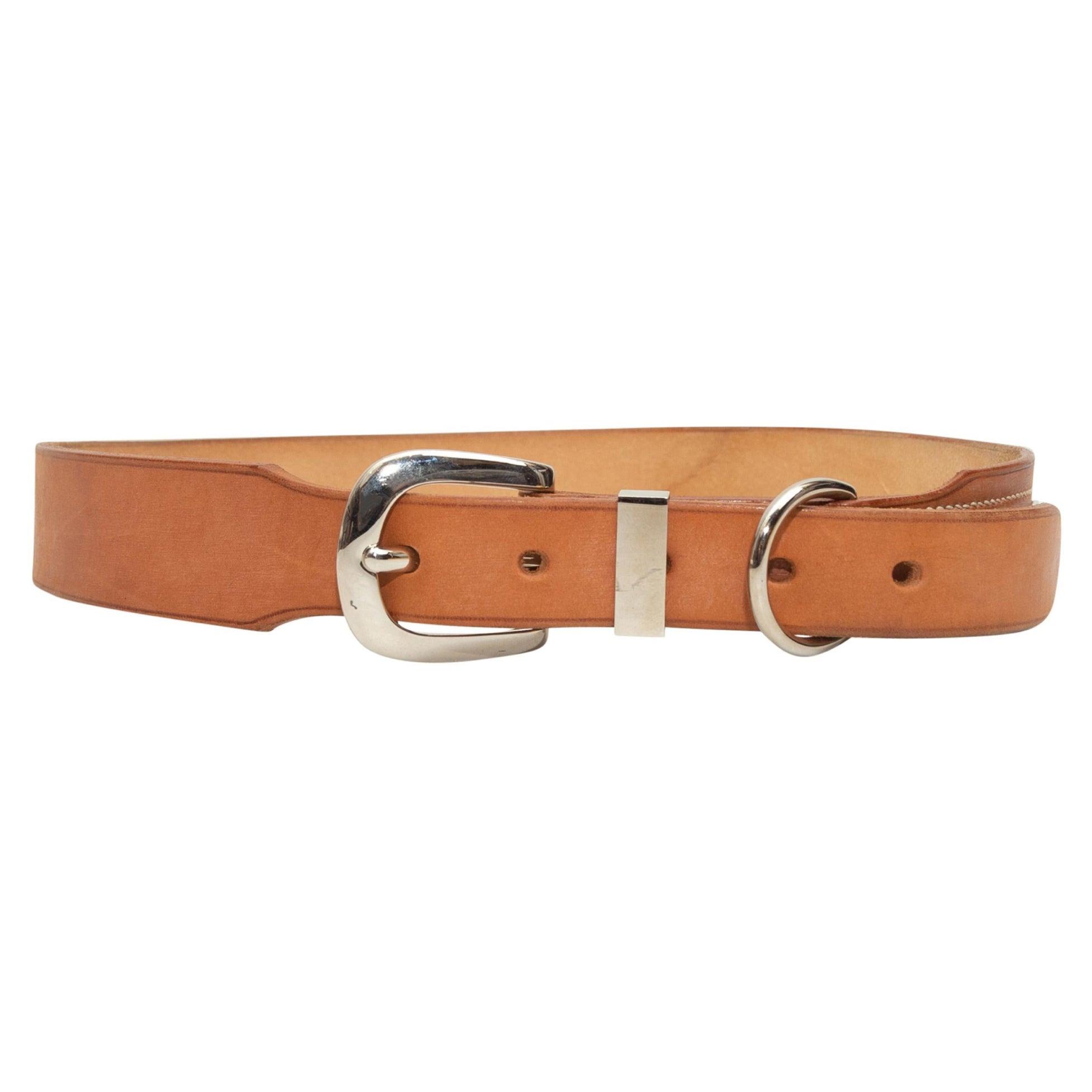 Hermes Tan 2000 Leather Belt