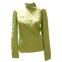 Alexander McQueen Asymmetric Buttoned Shirt