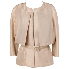 Champagne double jacket  Christian Dior