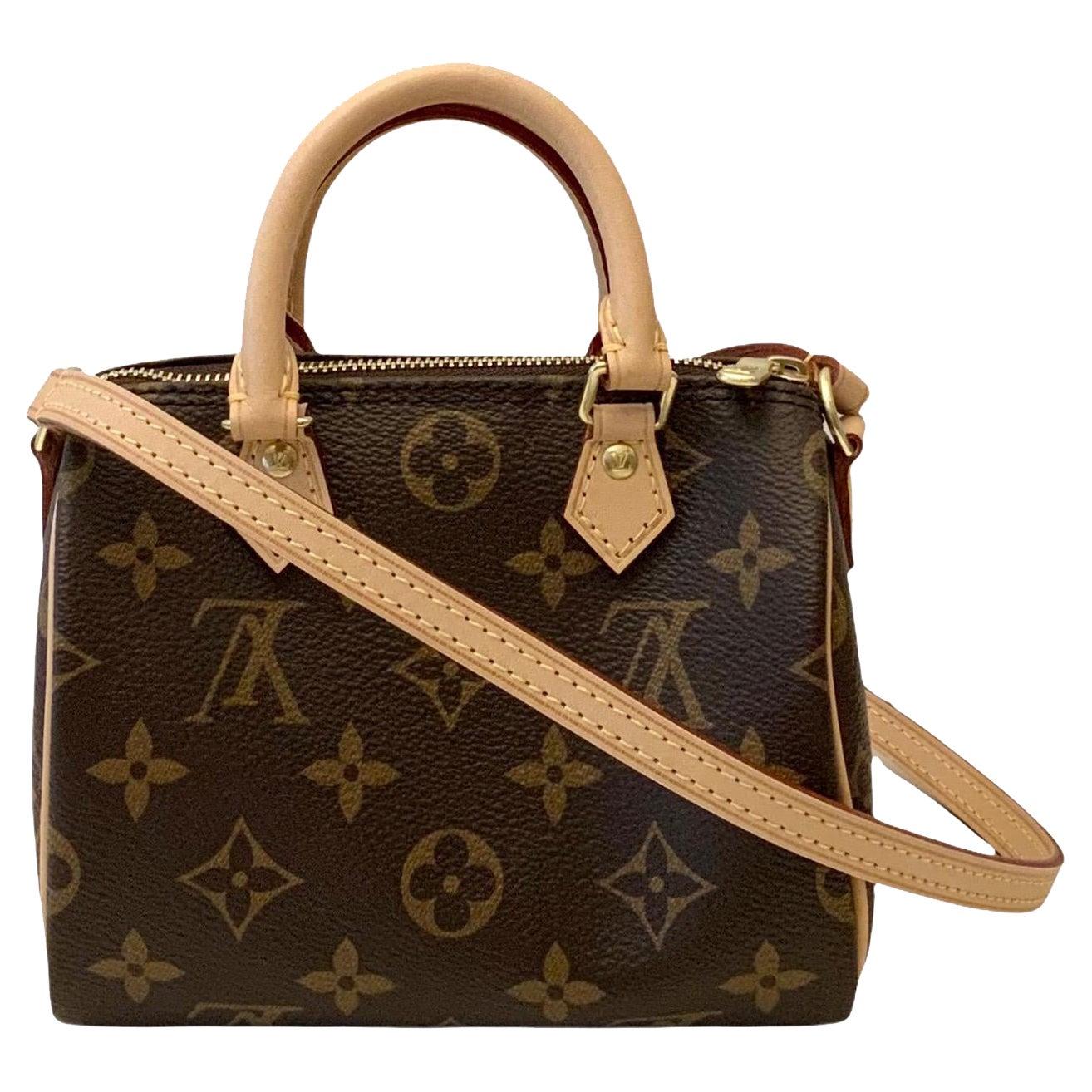 Louis Vuitton Monogram Nano Speedy Bag