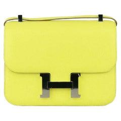 Hermès 2013 Constance 23cm Epsom Leather Shoulder Bag