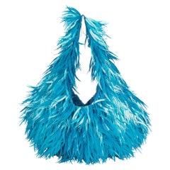 Chloe 2010 Celeste Plastic Beaded & Embellished Canvas Hobo Bag