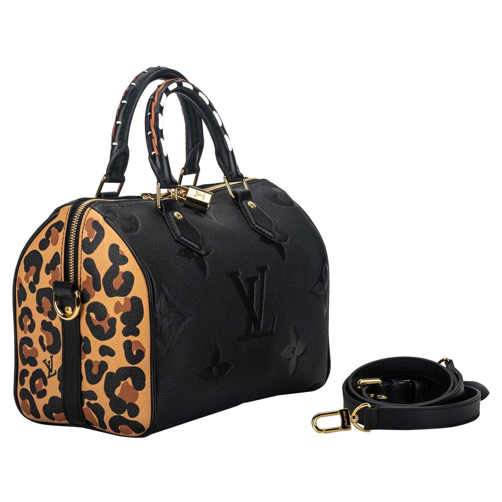 New Louis Vuitton Wild At Heart Speedy Bag 25