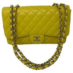 Chanel Jumbo Yellow Bag