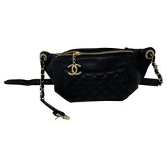 Chanel Black Bum Bag