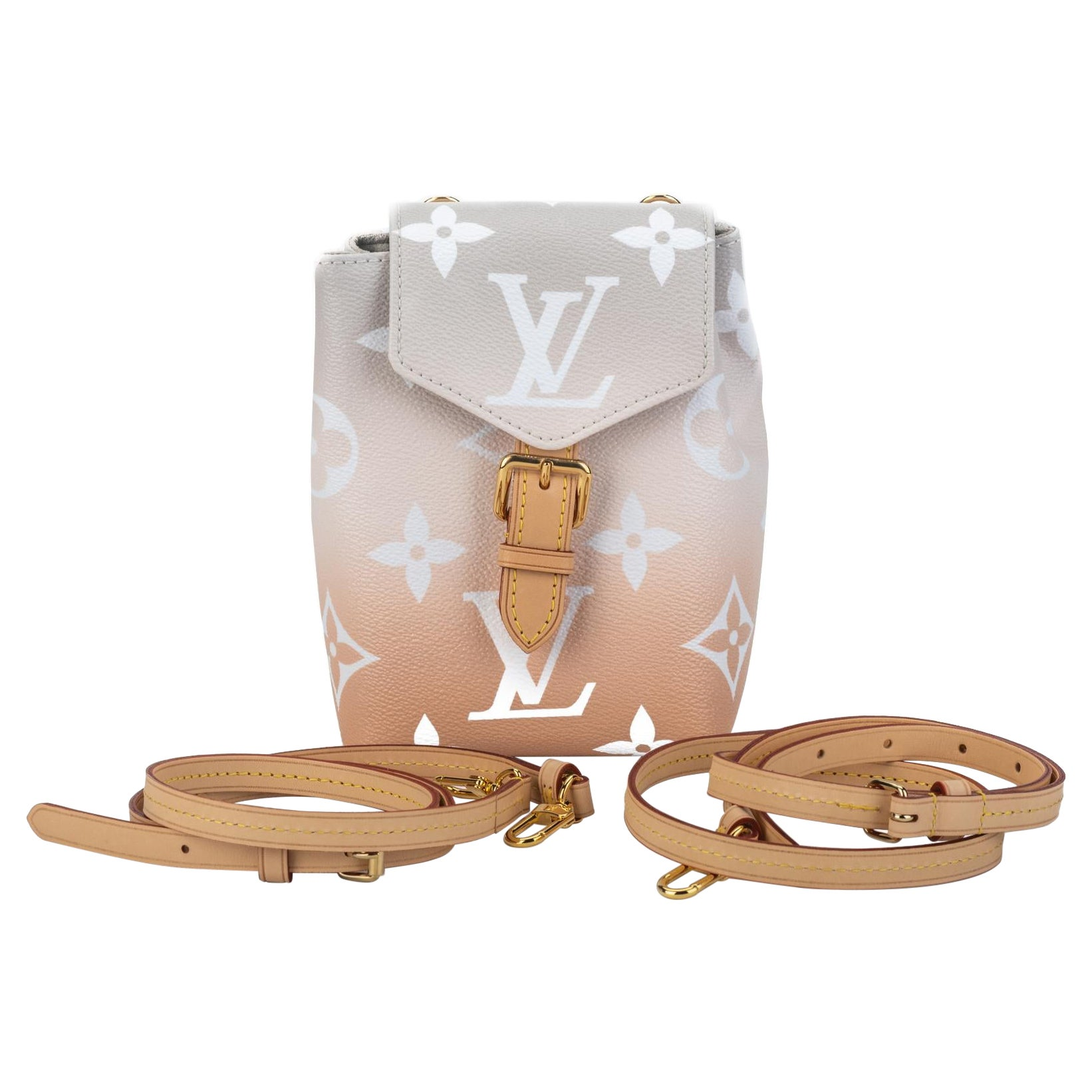 New Louis Vuitton Blush Ombre Backpack Belt Bag