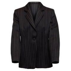 Giorgio Armani Black Wool Blazer