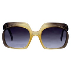 Christian Dior Vintage Sunglasses 2009 272 Yellow Green 52/22 140mm