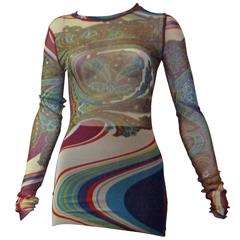 Early 2000s Jean Paul Gaultier Tunic and Long Skirt