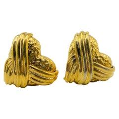 YSL Yves Saint Laurent Vintage 1980s Earrings