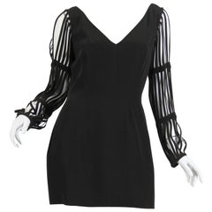 Sophie Sitbon Cage Sleeve Dress