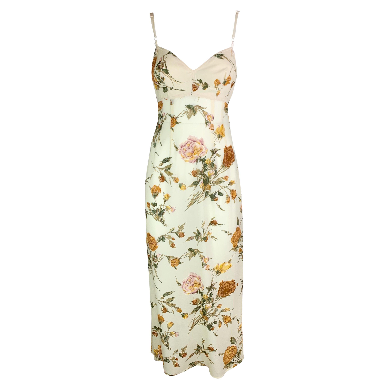 Dolce & Gabbana Spring 1997 Silk Dress