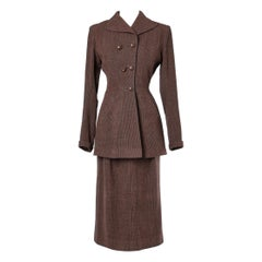Maggy Rouff numbered Skirt-suit Circa 1940