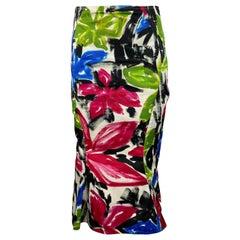 Marni Multicolored Midi Dress, Size 42