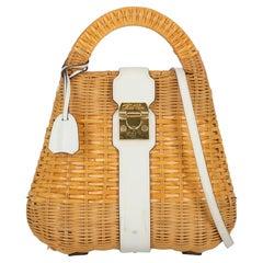 """""""Mark Cross Women Handbags Beige Eco-Friendly Fabric """""""
