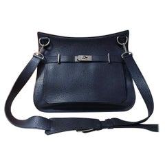 Hermes Black Jypsière 34  Shoulder Bag