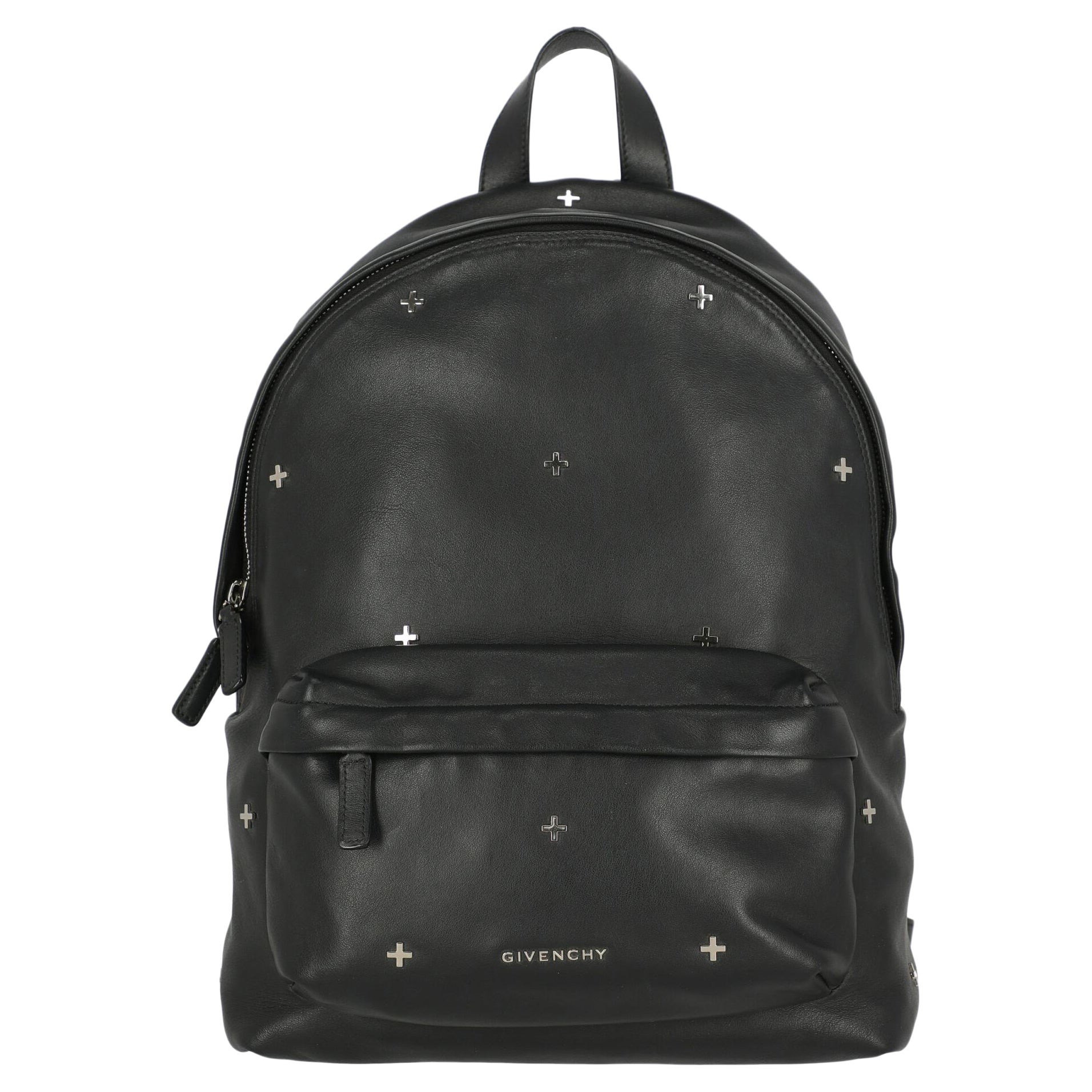 """""""Givenchy Women Backpacks Black Leather """""""
