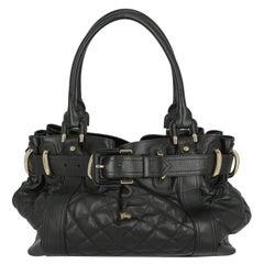 Burberry Women Shoulder bags Black Leather