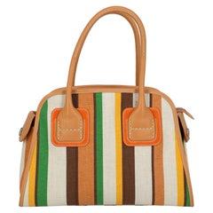 Hogan Women Handbags Brown, Green, Orange Fabric
