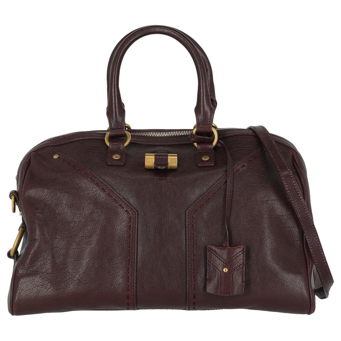 Saint Laurent Women Shoulder bags Muse Purple Leather