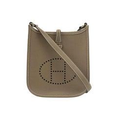 Hermès, Evelyne in brown leather