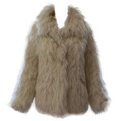 1970s Shaggy String Coat