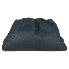 Bottega Veneta Women Handbags Navy Leather